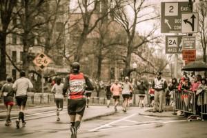 Boston Marathon 2015 - Travis Roy Foundation team