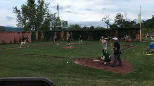 The Travis Roy Foundation annual Wiffle ball tournament is in its 15th year. (Joe Trezza/MLB.com)