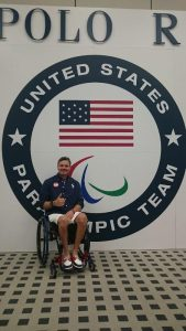Mike Tagliapietra before the 2016 Paralympic games in Rio. (Photo courtesy of Facebook)
