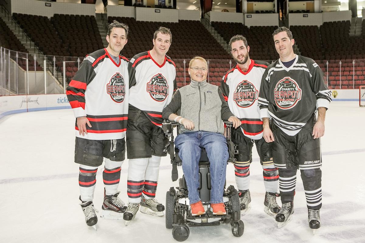 Hockey Fundraising Season Raises Over 800 000 For Spinal Cord